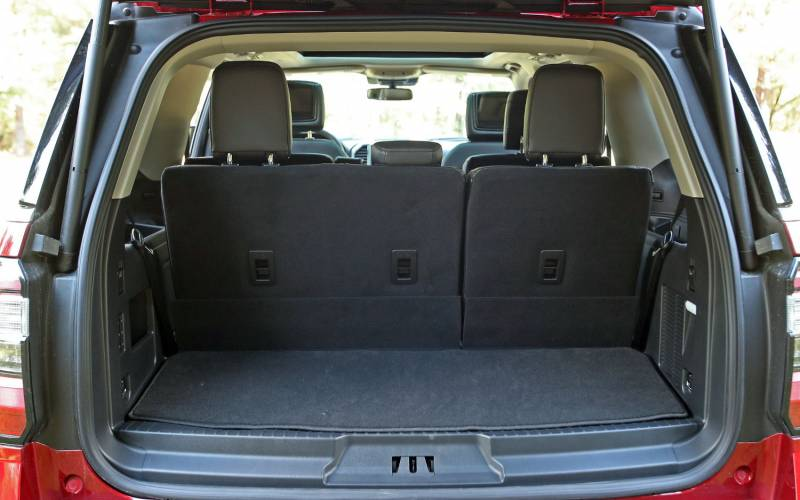 Comparison Ford Expedition Platinum 2018 Vs Seat