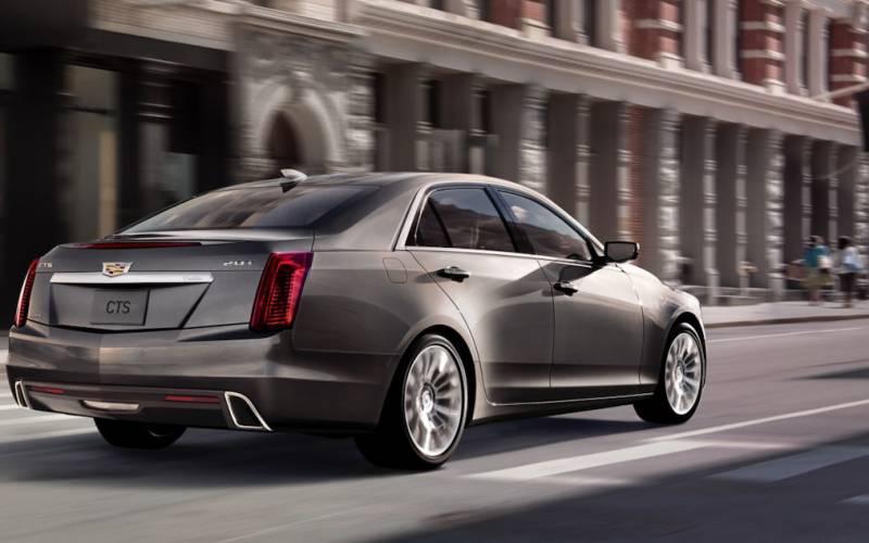 2017 Cadillac Cts 3 6 L Premium Luxury >> Comparison - Cadillac CTS-V 2018 - vs - Cadillac CTS Premium Luxury 2018 | SUV Drive