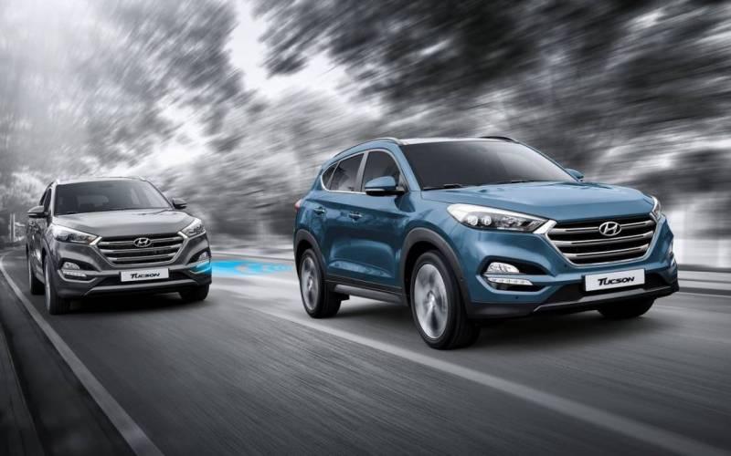 Comparison Hyundai Tucson Eco 2017 Vs Chevrolet