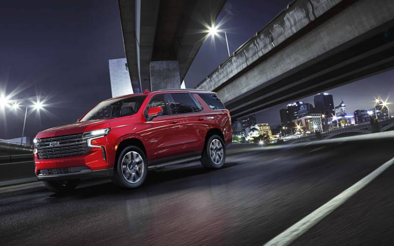 Chevrolet Tahoe RST 2021   SUV Drive