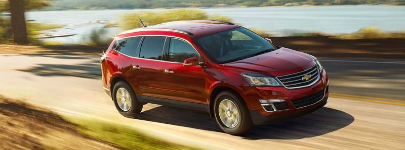 parison Chevrolet Traverse SUV 2015 vs GMC Acadia