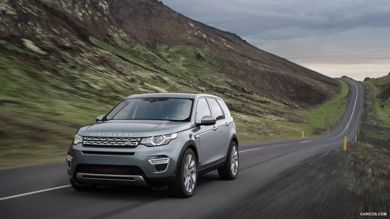 Cable Dahmer Chevrolet >> Comparison - Land Rover Discovery Sport 2016 - vs ...