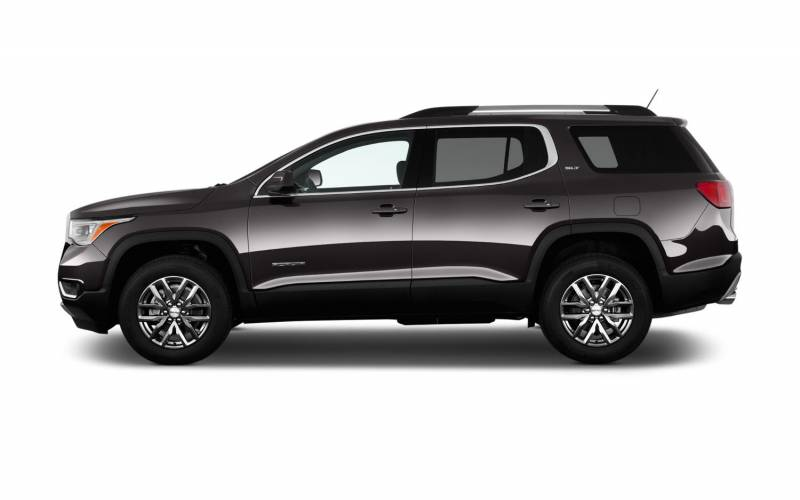 comparison gmc acadia limited 2017 vs toyota sequoia. Black Bedroom Furniture Sets. Home Design Ideas