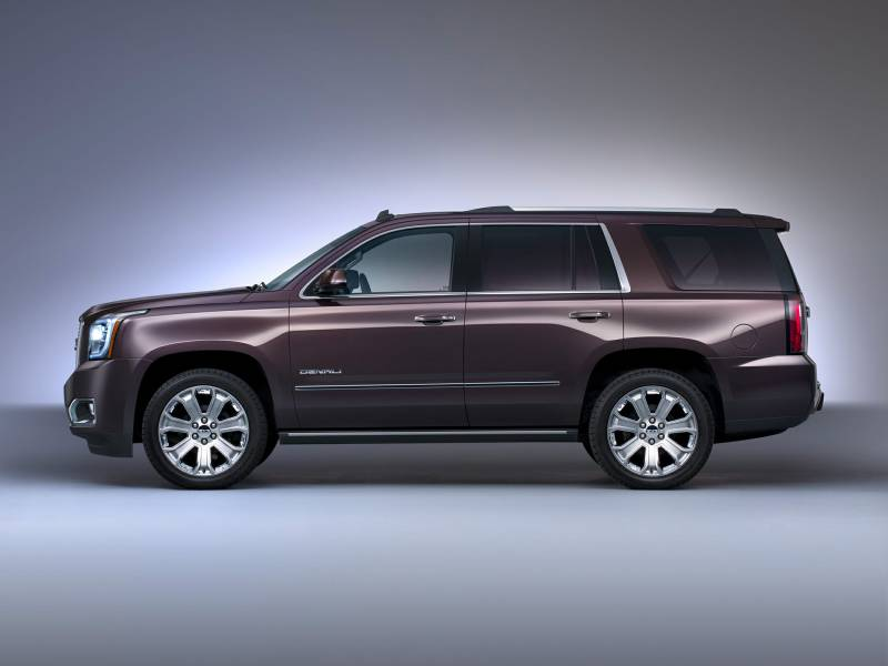 Gmc Vs Chevy >> Comparison - GMC Yukon Denali 2016 - vs - Lexus LX 570 2016 | SUV Drive