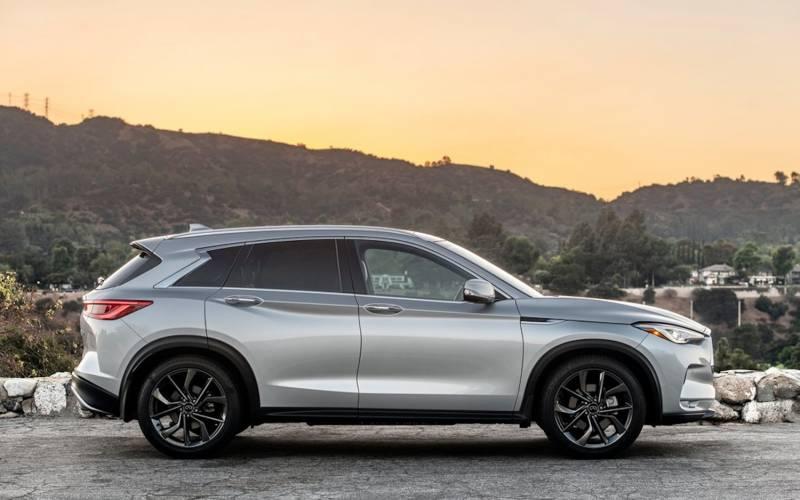 infiniti qx50 luxe 2021 | suv drive