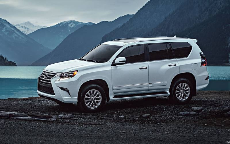 Comparison - Lexus GX 460 Luxury 2018 - vs - Buick Enclave ...