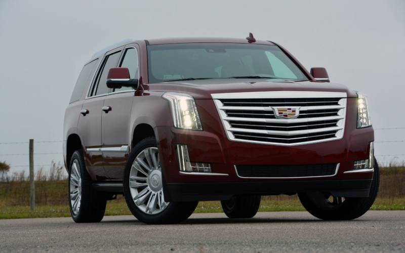 Comparison - Cadillac Escalade Luxury 2017 - vs - Lincoln ...