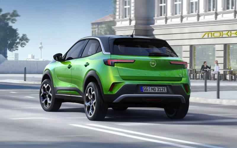 Opel Mokka-e 2021   SUV Drive